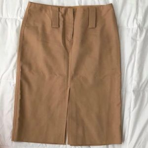 Beige Express Stretch Skirt